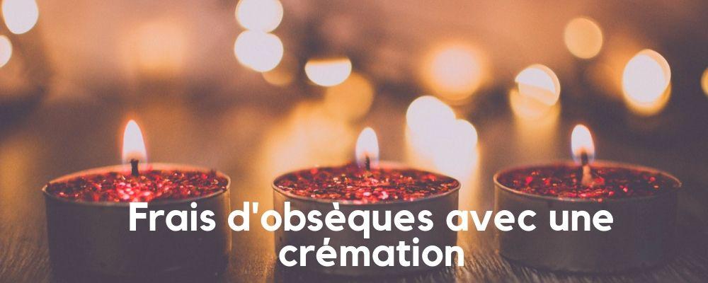 Frais d'obsèques avec incinération