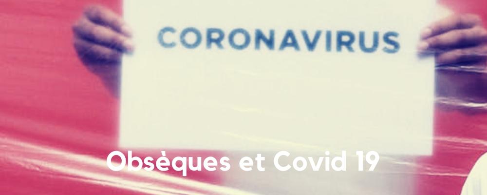 Obsèques et Coronavirus
