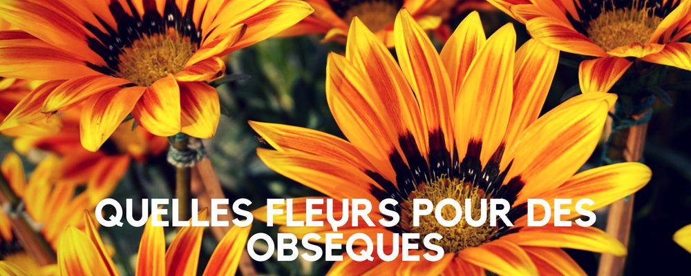 Quelles fleurs choisir pour des obsèques ?