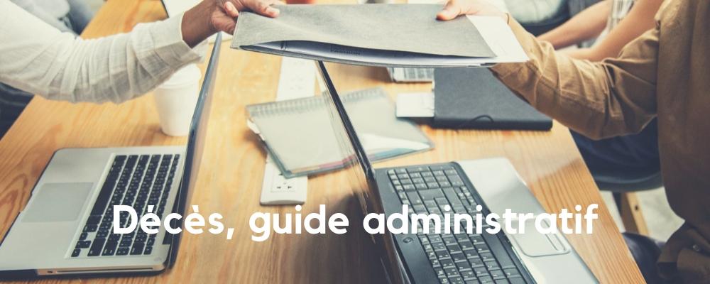 Décès, guide administratif
